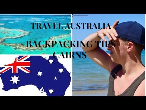 Travel Australia- Backpacking Tips, Cairns ll Travel Australia Vlog #03