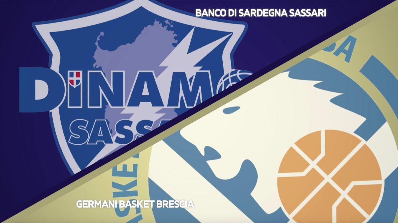Serie A Gli Highlights Di Sassari Brescia Youtube