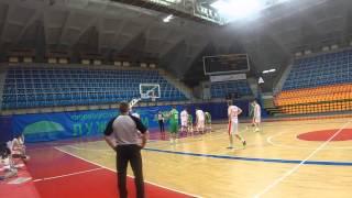 МегаФон - НПРЗ. Российские корпоративные игры 2015. Баскетбол.(, 2015-03-01T19:17:43.000Z)