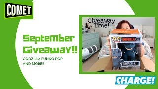 Comet TV & Charge September Giveaway ~ Godzilla Funko Pop and More!