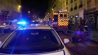 Incendie d'un camion au gaz : deux blessés (13 novembre 2018, Paris)