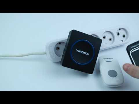 видео: Как привязать новую кнопку к дверному дзвонку yiroka a-289