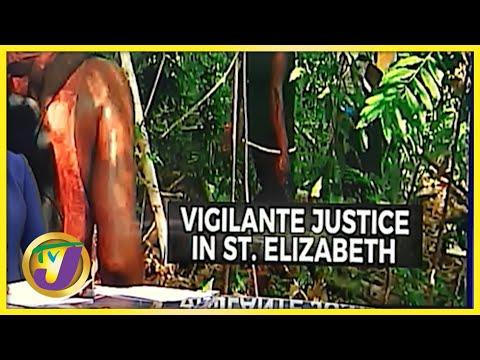 Vigilante Justice in Barton Hill, St. Elizabeth   TVJ News - Oct 11 2021