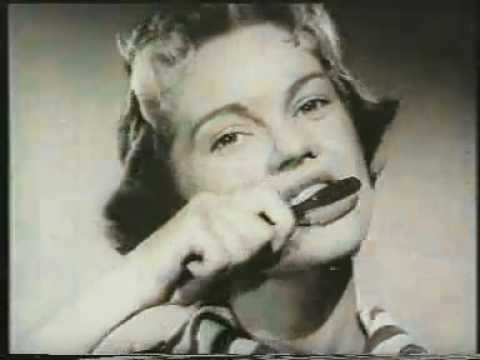 UK's First Television Advert - Gibbs SR Toothpaste
