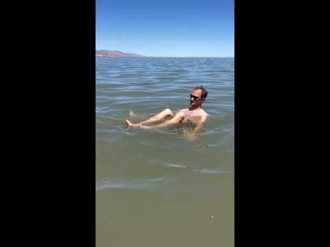Swimming (floating) in the Great Salt Lake