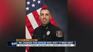 Police sergeant will not face charges in shooting death of Ty'Rese West