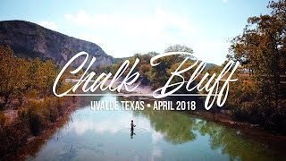 Camping and Fishing at Chalk Bluff - Uvalde, Texas (April 2018)