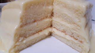 БЕЛОСНЕЖНЫЙ Торт НЕЖКА ТАЮЩИЙ СОЧНЫЙ и ВКУСНЫЙ БЫСТРЫЙ Торт на СКОРУЮ РУКУ