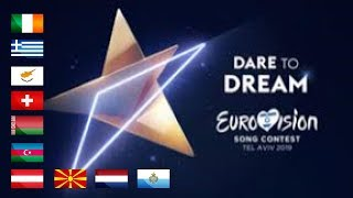 Eurovision 2019 - My Top 36 (March 9th)