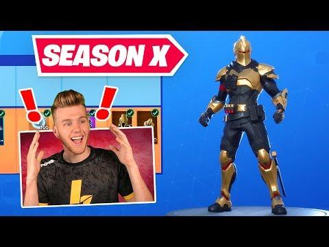 *new*-season-x-battlepass-in-fortnite-(gold-knight?!?)