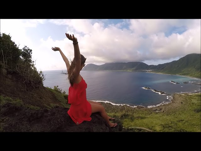 The girl Summer freediving in Lanyu Taiwan ?????