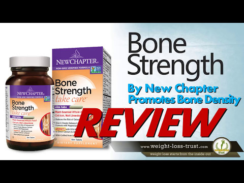 BONE STRENGTH by New Chapter Review