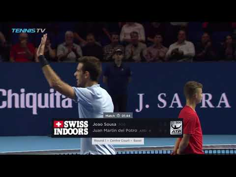Del Potro and Goffin stay in the hunt for London | Basel 2017 Highlights Day 3
