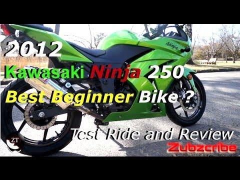 2012 Ninja 250 Review - Best Beginner Bike ?