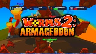 Worms Armageddon #2 with KSI, Miniminter & TBJZL