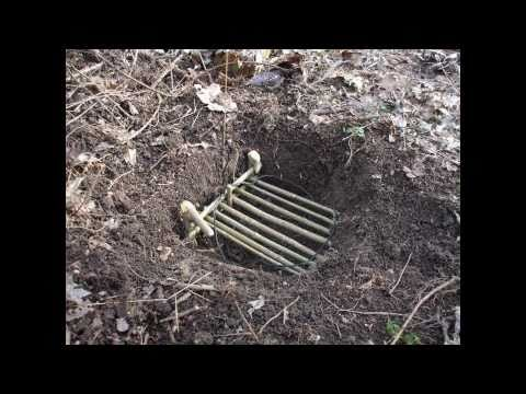 how to make a spring snare trap for small game