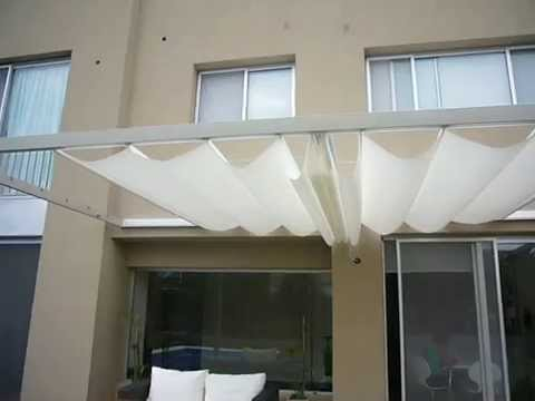 Cortinas Romanas de Techo - YouTube