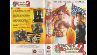 No Retreat No Surrender 2: Raging Thunder (1987)