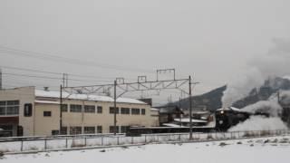 SL レトロみなかみ後閑駅発車(上り)