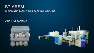 Automatic Fabric Roll Packing Machine - Suntech thumbnail