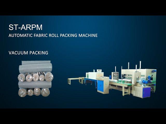 Automatic Fabric Roll Packing Machine - Suntech Brand, China