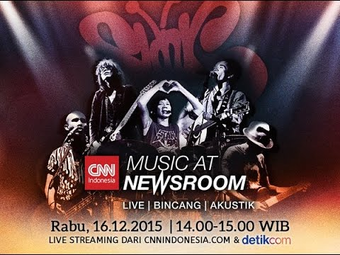 CCN Indonesia - Music at Newsroom - SLANK - 16 Desember 2015