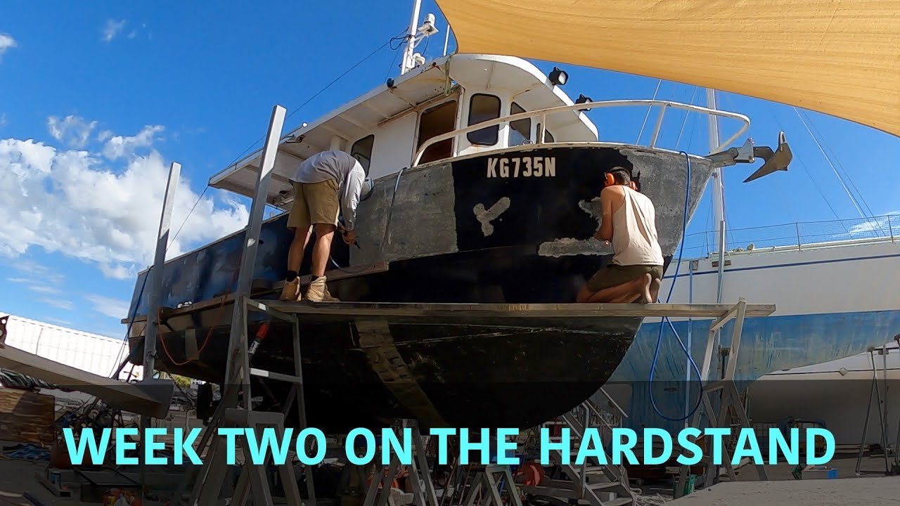 Week two on the hardstand