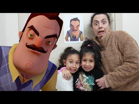Gizlice Hello Neighbour'un Odasına Girdik-Sıla ve Mira'nın Oyuncaklarını Almış||Fun Twins indir