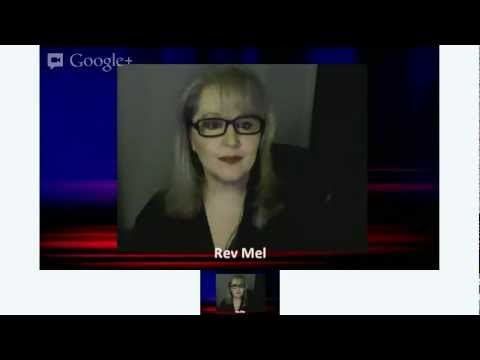 The Real 50 Shades of Grey book review on the Rev Mel Show as she talks about BDSM