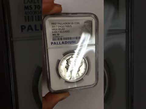 FIRST EVER! Palladium American Eagles Unboxing