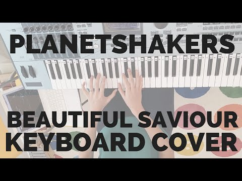 Beautiful Saviour Planetshakers Keyboard Cover