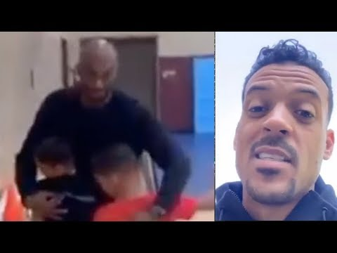 Matt Barnes SURPRISES Kids With PRIVATE Kobe Bryant WORKOUT SESSION!