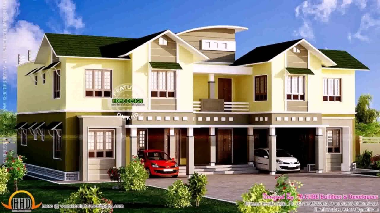 Duplex Style House Design
