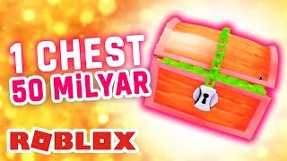 ROBLOX INDONESiA | 1 CHEST 50 Billion? Its Contents LEGENDARY PET ALL? 😍