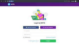 WRTS | Account aanmaken, boek toevoegen, overhoring starten
