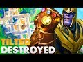 TILTED TOWERS DESTROYED BY THANOS | Fortnite: Battle Royale