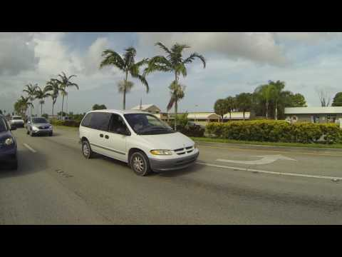 Dixie Highway from Car Depot, Homestead to Overseas Hwy, Key Largo, Florida, 3 August 2016  GP135504