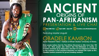 Ancient Origins of Pan-Afrikanism w/ Dr. Obadele Kambon