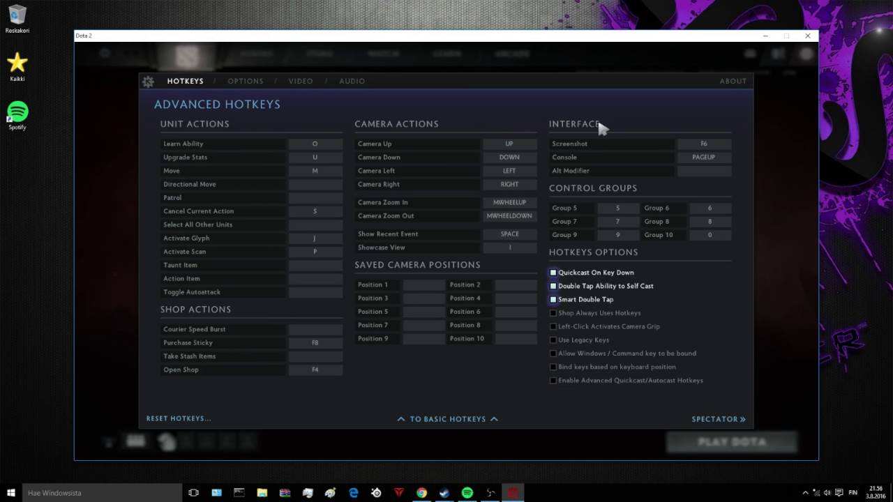 dota 2 tutorial how to enable console 2016 youtube