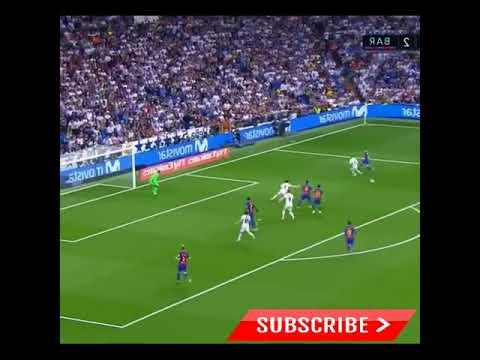 Lionel Messi goal number 500 vs Real Madrid