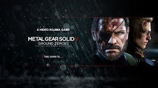 Story Mode - Metal Gear Solid V - 1080p60 Max Settings