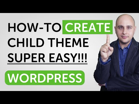 How-to Create WordPress Child Theme Easily