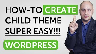 How To Create A WordPress Child Theme SUPER EASY!!!