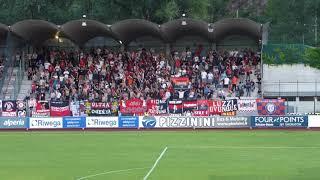 FC Südtirol - Cosenza 1-0: Tifo Ultras Cosenza
