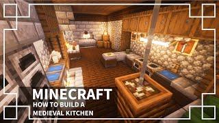 kitchen medieval minecraft middle age