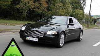 ПРОДАЖА АВТО МАЗЕРАТИ Maserati Quattroporte pininfarina 2007 Тест драйв