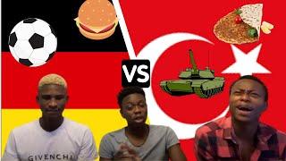 TURKEY VS GERMANY MILITARY CULTURE FOOD DANCE FOOTBALL Türkçe altyazı