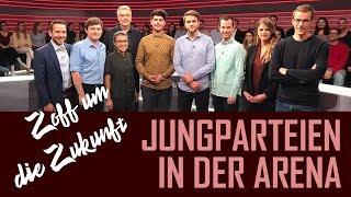 Jungparteien In Der Arena | Zoff Um Die Zukunft | 27.09.2019