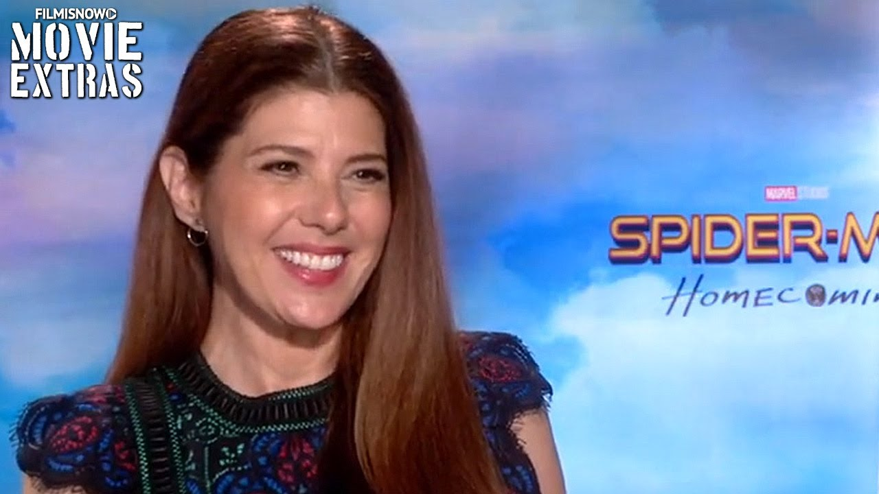 Spider-Man: Homecoming (2017) Marisa Tomei talks about her ...