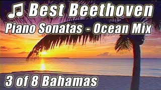 CLASSICAL MUSIC for Studying 3 Instrumental Piano BEETHOVEN Sonatas Concentration Study Playlist